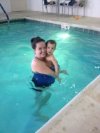 Jacob & his mommy