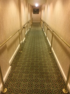 One of the halls I had to run down to get help!